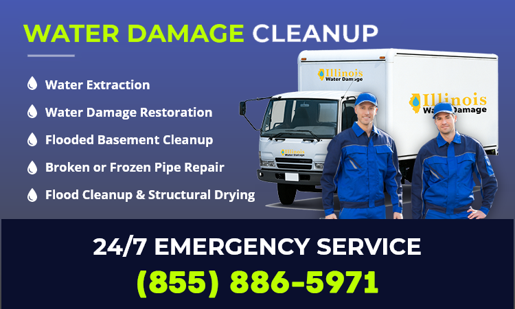 water restoration services in  Chicago, 60634